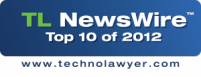 "TechnoLawyer Names TheFormTool ""Top Ten Product of 2012"""